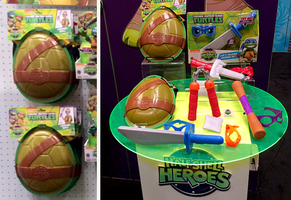 Playmates Half Shell Heroes by Fuzion